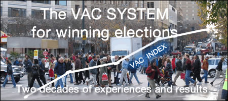Why the VAC SYSTEM is the key tool for winning elections